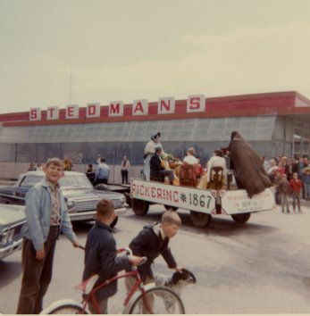 1967 - 1867 Float Celebrating Canada's 100th